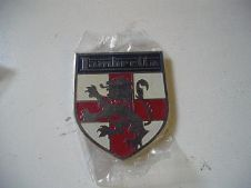 stick on lambretta shield badge